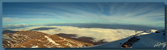 Absolute panoramic roundness ... HDR (Emil9497 Photography & Art) Tags: winter panorama snow hellas greece drama hdr d90 nikond90 falakromountain