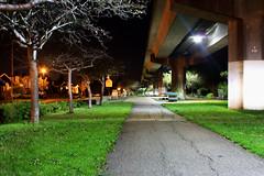 The Tracks (punkrocktopus) Tags: urban night landscape awesome traintracks bart surreal albany