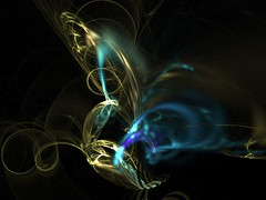 Flight of the Butterfly (Lynn (Gracie's mom)) Tags: wallpaper abstract butterfly artwork fractal apophysis fractals distillery abigfave cammiangel