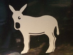 mule (Mikeenikee) Tags: signs schilder donkey esel