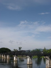 Bridge on the river kwai (anuradhac) Tags: thailand kanchanaburi kwai