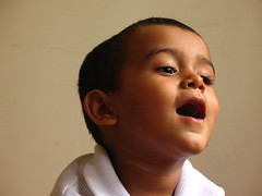 Xpressions (Raksh1tha) Tags: closeup kids natural surreal funnyfaces chennai shaam unaltered canona630 kuttibalu