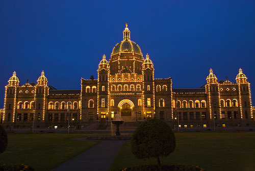 Parliament Buildings in Victoria
