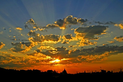 Sunrise Over Barcelona (Photo by papalars)