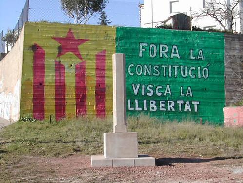 Anonim - Fora la Constitució! por muralsppcc.