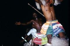 Tänzer bei Nacht