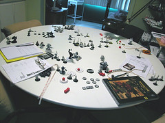 Our game table (Todd Hersey) Tags: game table warmachine