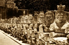 Heads of Kings and Heads of Buddhas - by Stuck in Customs