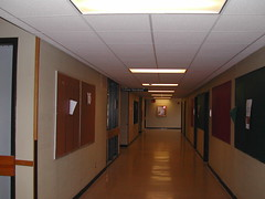 Hall, Career Services entrance 7-20-07 (UWGB_SS_Remodel) Tags: hallways uwgb