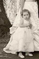 sk0185_RJa (triforfun) Tags: wedding child antique shy curly flowergirl gown