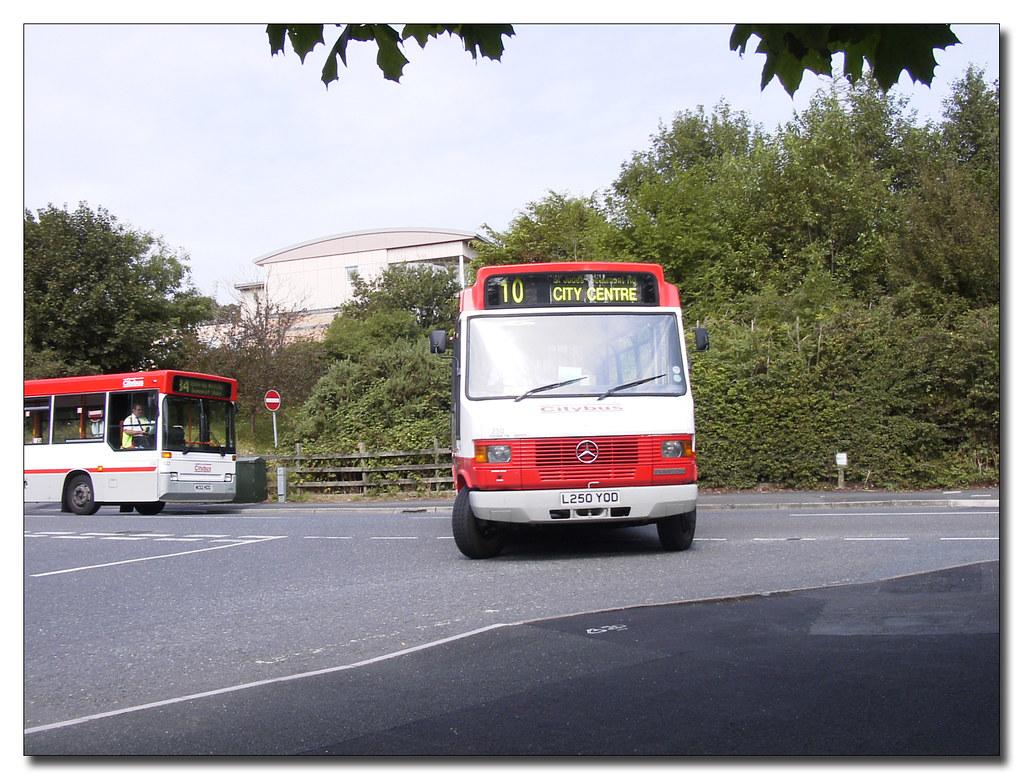 Plymouth Citybus 250 L250YOD