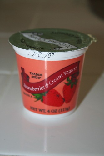 Trader Joe's yogurt