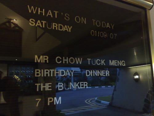 Happy birthday, Gong