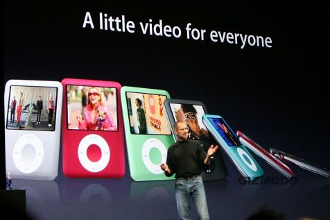 Nuevo iPod Nano con video