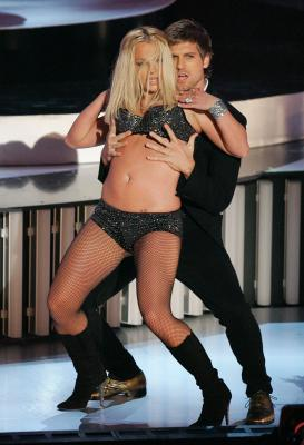 Britney At The 2007 MTV Video Awards