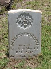 Douglass Hoapili Baldwin's grave ((monica)) Tags: cemetery douglass pineapple yale baldwin lahaina gravemarker mauihawaii hawaiiancemetery dwightbaldwin waineecemetery douglasshoapilibaldwin charlottebaldwin
