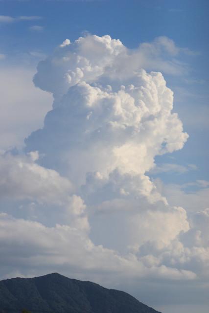 いつか見た夏雲