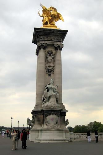 La Renommée de l'Agriculture sculpture by Gustav Michel
