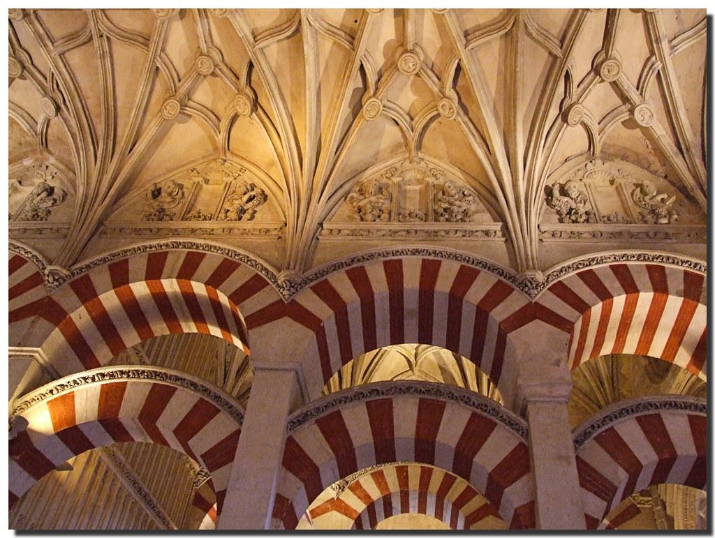 Photo d'Andalousie n°4. Intérieur de la mosquée de Cordoue