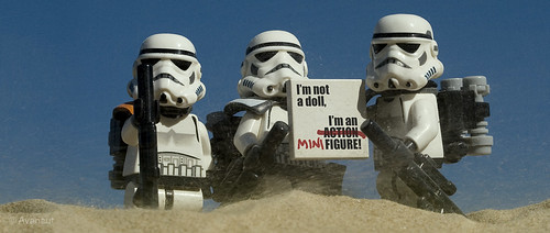 Sandtroopers Make a Stand
