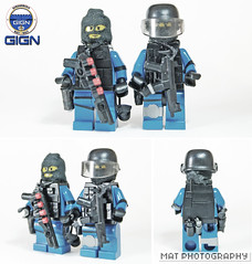 GIGN TT (Shobrick) Tags: lego tiny custom swat tactical gign brickarms brickforge shobrick