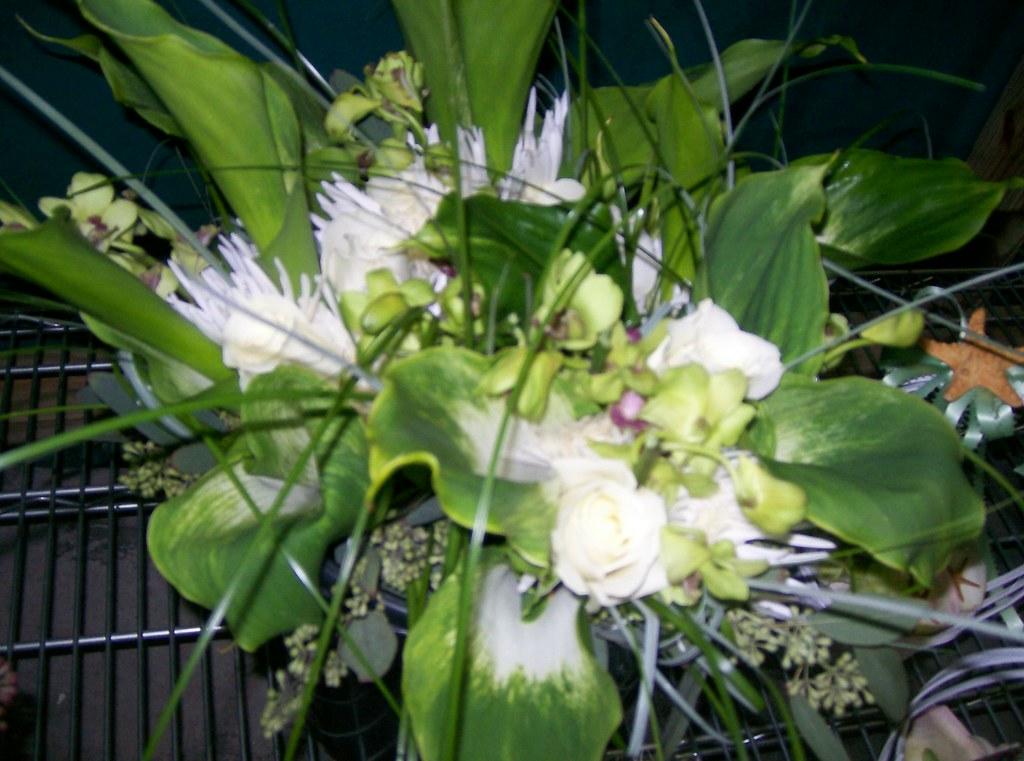 Green Calla Lily Bridal Bouquet 2010