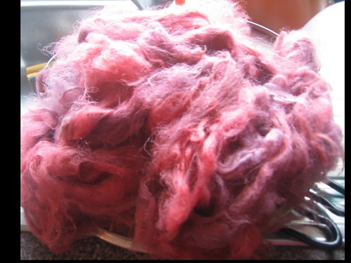 dyed fleece salmon Gum over indogo 2