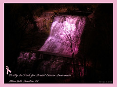 Albion Falls Breast Cancer Awareness IMG_1171 (Jennz World) Tags: pink ontario canada waterfall hamilton cancer falls breastcancer pinkribbon superzoom albionfalls pse7 pinkribbonsforawareness sx30is canonpowershotsx30is