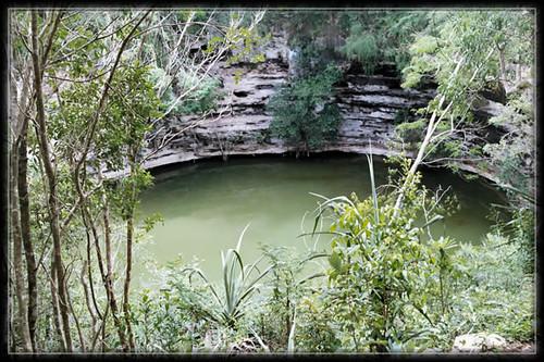 Cenote à Chichen itza