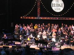 Elton John, Elvis Costello, and Leon Russell