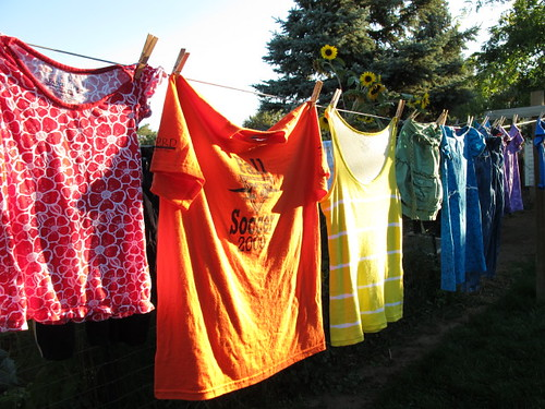 My rainbow clothesline #8