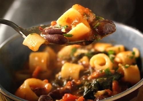 My Version of Food Network Magazine's Pasta Fagioli