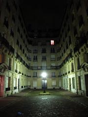 IMG_1534 (Wantedpixel) Tags: paris france lamp night square flats cobbles lowkey