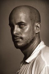 Antonio (Ryan Macalandag) Tags: umbrella nikon flash portraiture d40 strobist ryanmacalandag