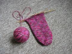 Falling in Love sock sole