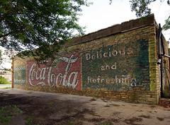 COCA COLA (BOB WESTON) Tags: sign cocacola ghostsign quanahtexas
