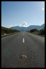 Luib (tanera) Tags: road bluesky cumulus cuillins wwwtaneracouk httptaneracouk