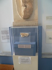 Erechtheion fragment in the Acropolis Museum