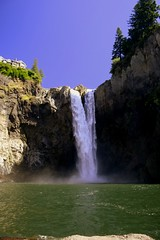Snoqualmie Falls - by papalars