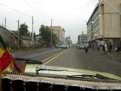 Touring Addis Abeba