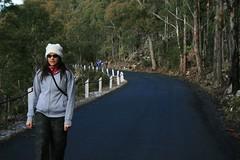 tash walking mt wellington.JPG (oselle) Tags: trip last around tassie