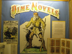 Dime Novels exhibit