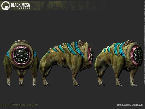 Black Mesa juego Houndeye
