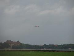 Airbus A330 beim Landeanflug