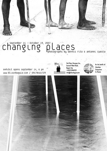 Changing Places - Photos by Dennis Rito and Antonni Cuesta