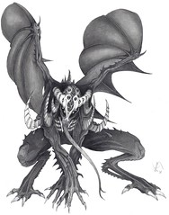 Ravenwing Demon (TalonWarlok) Tags: art illustration pencil dark yahoo google flickr artist cole god drawing gothic goth bat favorites fairy fanart fantasy talon mayan badge comicbook scifi demon concept unexplained faerie warlock phenomenon faries 11x14 ravenwing warlok talonwarlok 81212 talonwarlock camatoz