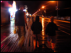 Rainy OC Boardwalk