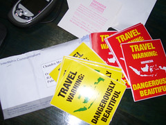 Travel Warning Stickers
