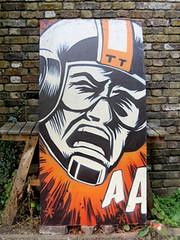 Aaaagh (Dep........ { PaintshopStudio.com }) Tags: london art painting studio paintshop graffiti sketch starwars tag cartoon canvas tricks spraypaint graff dep highbury turnin