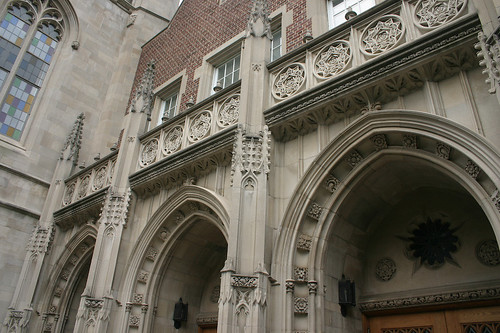 Hepburn Hall, NJCU, Auditorium entrance